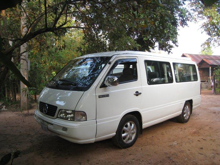 Cambodia Taxi Driver mini Van
