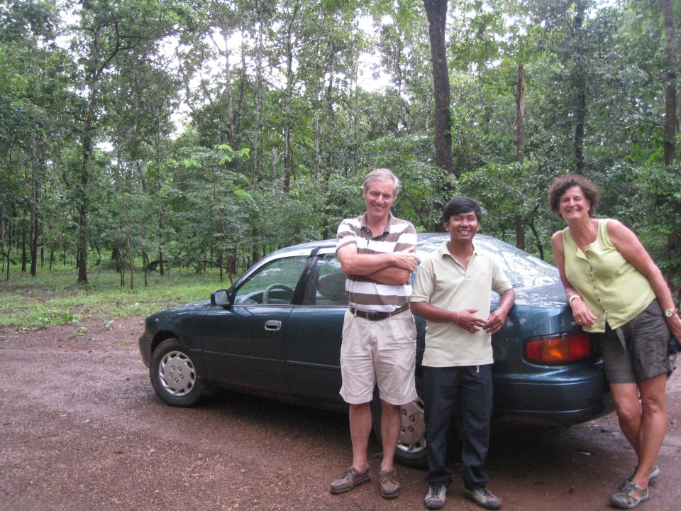 Cambodia Taxi Driver clients 15 days trip