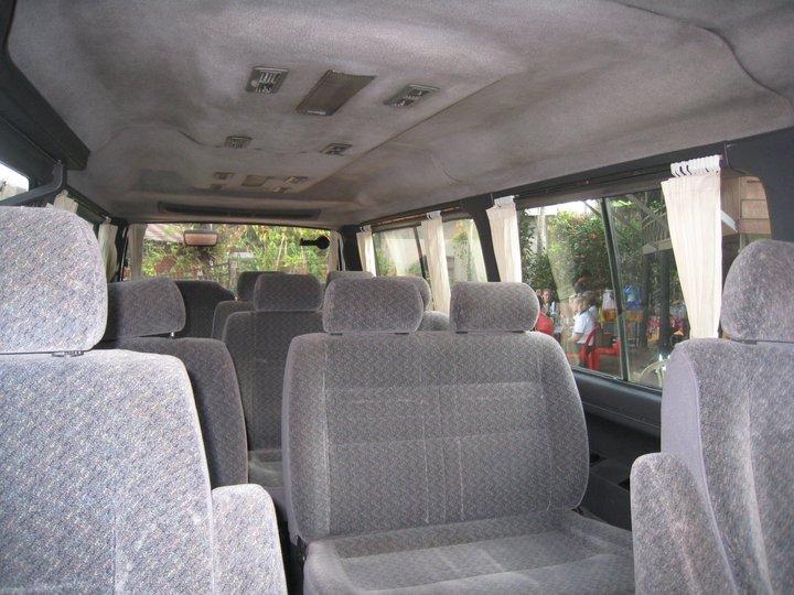Cambodia Taxi Driver interia Van