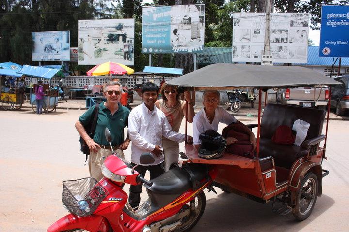 Cambodia Taxi Driver a Tuk Tuk Service