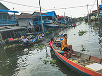 Siem Reap floating village tour