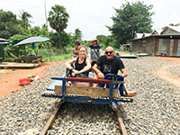 bamboo train battambang tour