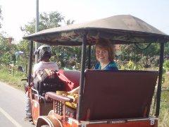 Tuk Tuk to Angkor with Cambodia Taxi Driver